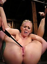 Fetish Nippels, Sexy blond gets tied up hard, abused, DP'd and forced to CUM.