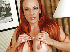Celebrity Vids: Shannon Thick Red Dildo