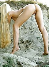 Outdoors Pics: Desiree - Sandpit
