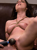 Dark Brown Nipples, Casting Couch 8: Winter Sky, A Rope Slut is Born!