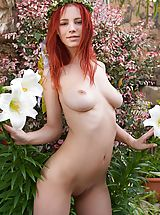 FemJoy Model Ariel in My Flower Garden