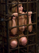 puffy nipples photos, Lorelei Lee is put in predicament bondage device