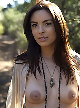 Naked Nipples, WoW nude danicole walk in the forest