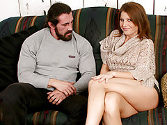 Beautiful Nipples, Enticing anilos hottie rae rodgers prepares to open her legs for a burly hunk