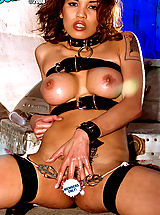 Suze Randall Nippels, Renae Cruz is a busty,  lusty Latina with constant kink on her mind.