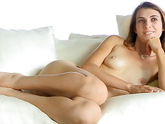 black naked, Thena nude on the couch