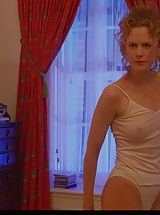 Areolas, Nicole Kidman bares breasts, tits and bush while posing when you look at the mirror