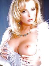 Naked Suze Randall, Lots of lavender silk and soft skin - Lydia has never looked more lovely.