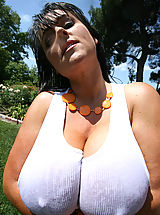 naked mature, Tremendous Big Breasts of Indianna Jaymes