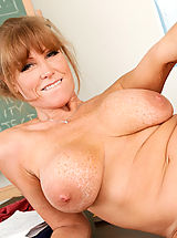 Aerolos, Darla Crane,My First Sex Teacher,David Loso, Darla Crane, Teacher, Chair, Classroom, Desk, Massive Breasts, Blonde, Blow Job, Dominant, Facial, Fake Tits, Mature, MILFs, Shaved, Tattoos, Titty Fucking,
