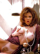 Suze Randall Nippels, Lovely as she is lewd, this rangy raunchette puts you through an attention-riveting