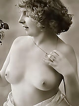 naked ladies, Very rare genuine vintage erotic postcards of 1910's featuring women that never ever swallowed cum and still pure