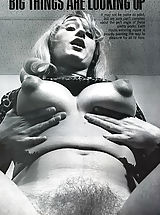 Huge Nipples, Retro Style Pleasure