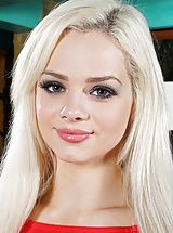 naked latina, Photo Set No. 1299 Elsa Jean bares her own god given jugs and exposes those natural snatch