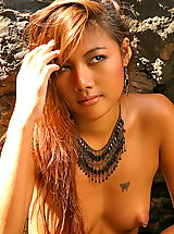 Aerolas, Asian Women kathy ramos 09 beach swimwear big nipples