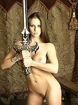 Retro Clothing, WoW nude rahelyn armed courier