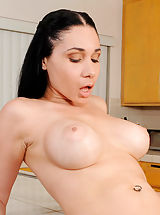 Erect Nipples, Anilos Tacori Blu gets her pussy rammed and gets jizz all over her face