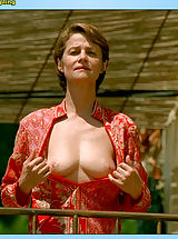 Nice Areolas, The famous Charlotte keeps absolutely nothing right back on movie!