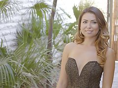 Melissa Moore has arrived for her date with Jillian Janson and Ryan Driller.