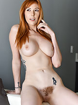 Naked Hairy, Slender Sexy