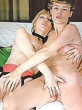 Vintage Nippels, Two gorgeous lesbians know how to have fun