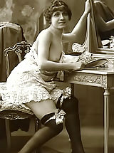 The Famous Vintage Riscue Cards From France 1920 Displaying Beautiful Nudes
