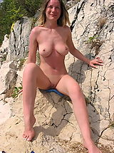 Mini Bikini, Very Hot Naturist Ladies Pose All Naked And Showing Tits And Even Spreading Cunts