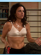 Perky Nipples, Julia Louis-Dreyfus sheds some epidermis on Seinfeld
