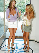 naked lesbian, Tits, tits and more tits... Kelly and Summer together make Ryan's every dream come true.