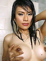 Nipple, Asian Women wanda tai 14 shower vagina