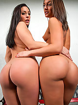 hot ass, Gracie Glam & Mischa Brooks