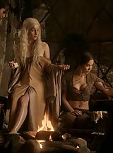 Enourmous Areola, Game of Thrones Sexy Girls for the Lords pleasure
