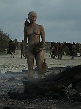 Fantasy Pics: Game of Thrones Girls queen of the dragons nude