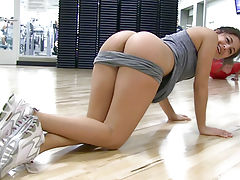 butt, Natalie Naked Workout