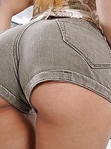 sexy butt, Photo Set No. 1348 Jade Jantzen unveils her own sizeable cans and bares her own solid slit