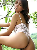 Asian Nippels, Asian Women vanessa ma 16 forest lingerie