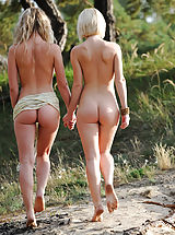 big dildo, Taking a long walk in nature under the warm sun is the most favorited time spending for these extraordinary looking babes.
