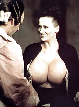 Vintage Online, Rare To Find Antique Bare Photos of the Owner of the Biggest Breasts in the World - Chesty Morgan - Shot In 1970s