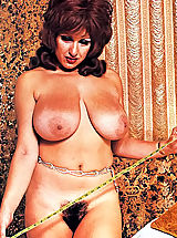 young naked, Check out this busty vintage porn star showing her monster boobs & hairy pussy today on the gal of VintageCuties