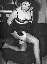 Vintage Pics: This Vintage Fetish Gallery If For The True Lovers Of Genuine Women Fetish Clothing