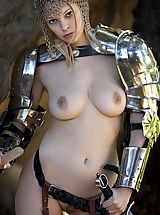 Vintage Look, WoW nude brea knight of nudes