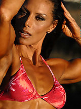 Deidre Pagnanelli Awesome Muscles