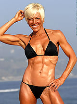 Christine Le Monde Ripped and Beautiful