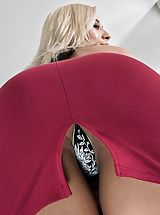 Naked Upskirt, Photo Set No. 1349 Demi Lopez exposes those huge funbags and spreads her amazing fotze