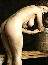 Big Nipples, WoW nude keemly medieval body washing